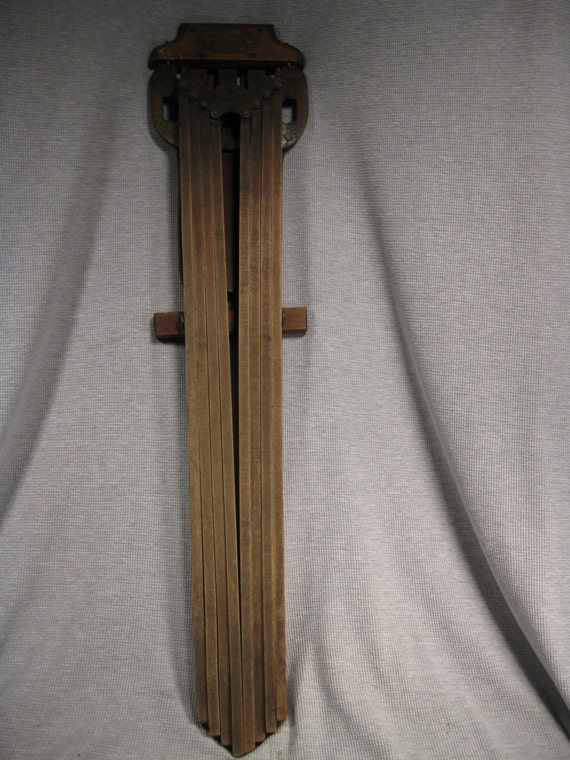 Antique Wooden Wall Mounted Clothes Drying Rack 8 Arms