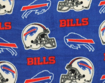 NFL Buffalo Bills Fleece V2 Fabric