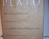 Plato the Collected Dialogues 1961 Princeton University Press Includes Prefatory notes.