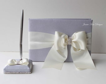 Wedding Guest Book. Sign in Book and pen set