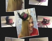 Duct Tape Mini Top Hat (MADE TO ORDER)