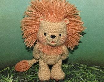 Leo the Lion Crochet Pattern Italian Artist
