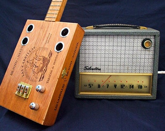 Cigar Box guitar Lessons for homemade 3 string guitar DVD video to Learn Delta Blues & slide Primitive Americana