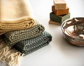 NEW Anatolian Turkish Towel, Peshtemal Towel, Fouta / Autumn / Yellow, Green, Lavender, Ice green, Light Blue, Pink, Blue / Gift for her,him