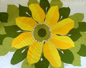 Tablecloth by Vera Neumann - Sunflower - 1960s - 1970s