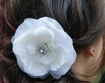 Lucious Layered Flower Clip