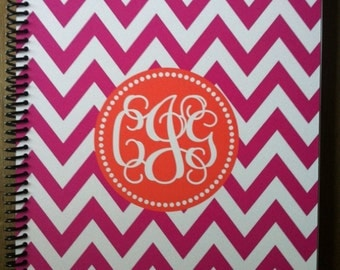 Personalized Monogrammed Notebook- Design Your Own