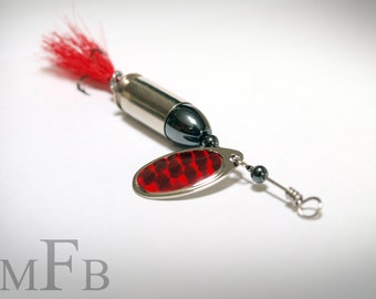 Red Bullet Fishing Lure
