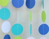 Circle Dot Garland - baby shower decoration, children's birthday parties, party decor