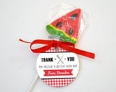 Personalized Barbecue Favor Tag - BBQ Spatula and Fork - DIY Printable Digital File