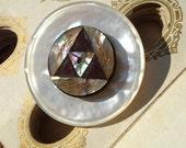 Antique Button Brooch Pin...
