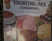 Betty Crockers  Cake and Frosting Mix CookBook 60s Paperback
