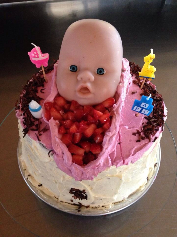 items similar to vagina baby shower cake on etsy