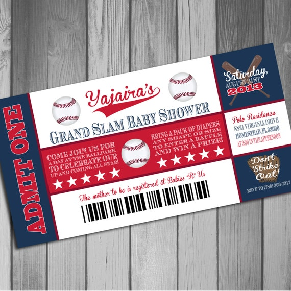 Boston Red Sox Inspired Baseball Baby Shower By Claceydesign