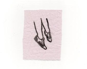 Audrey Horne's shoes -  mini patch
