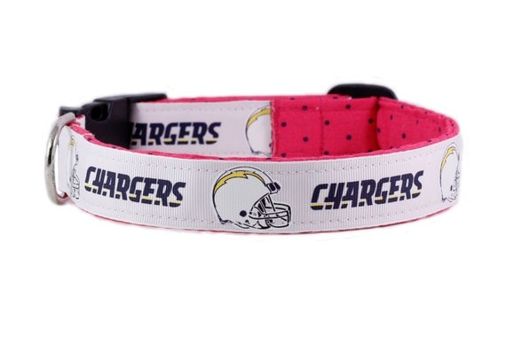 San Diego Dog Collar Football Sports Sd Chargers Dog