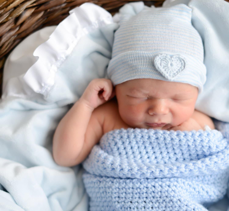 Newborn Boy Hat Newborn Boy Hospital Hat Newborn Boy Hat Baby