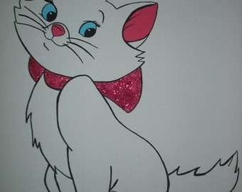 Marie from Disney's the Aristocats.