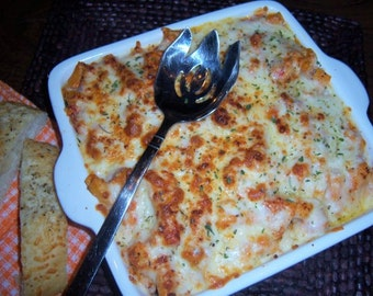 TREASURY ITEM - Recipe -  Baked Ziti with 3 cheeses - diy - Cooking - Recipes - Pasta recipe