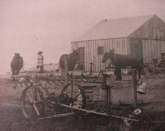 Cabinet Card Photo of John Wehrle Farm