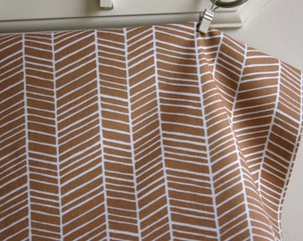 Herringbone in Maple by Joel Dewberry from the Modern Meadow Collection - Westminster Fabrics - ONE YARD Cut