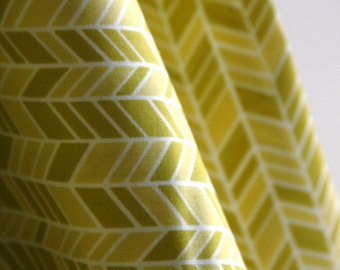 Organic Straw Hat  in Yellow from the House & Garden Collection from Cloud 9 Fabrics - ONE FAT QUARTER  Cut
