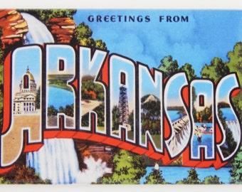 Greetings from Arkansas Fridge Magnet