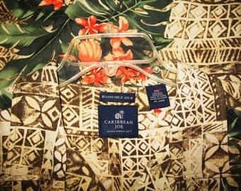 Amazing Vintage Hawaiian Shirt CARRIBEAN JOE  Tropical Islands 100% Silk  Size 2XL  Very Collectible