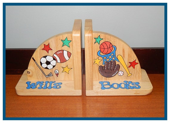 Sports Theme Bookends
