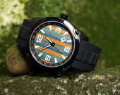 unique gifts for men - Recycled Skateboard Watch - Second Shot Skate Watch