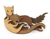 Woodland Brooch: Fox