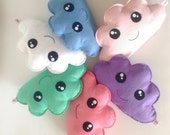 Kawaii Cloud - Made to order - Kawaii Softie, Soft Cloud Toy, Cloud Pillow, Baby Gift