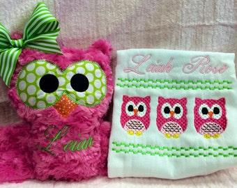 Owl Baby Gift set