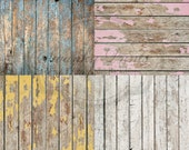 """SAMPLE PACK / FOUR 12"""" x 12"""" Customer Favorite Wood Floordrops / Vinyl Photography Backdrops for Product Photos"""
