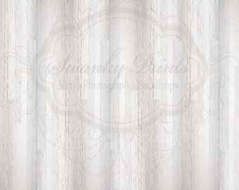 15ft x 15ft Vinyl Photography Backdrop for Accessories / White Textured Wood