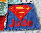 Personalize Superhero Quilt - Add a Name