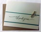 Card - Thank You - Elegant Dragon Fly