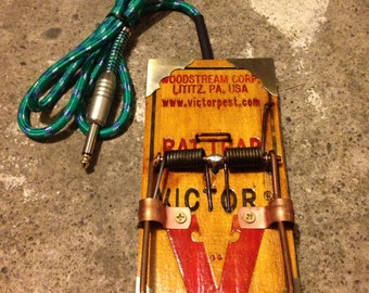Rat Trap Tattoo footswitch foot switch art flash cloth wire cord
