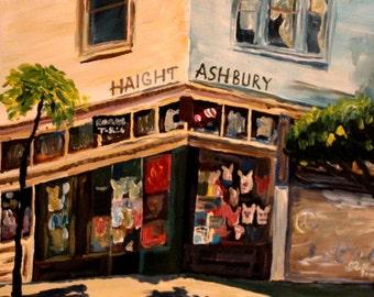 Love N Haight in Haight Ashbury in San Francisco