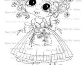 INSTANT DOWNLOAD Digital Digi Stamps Big Eye Big Head Dolls IMG314 My Besties By Sherri Baldy