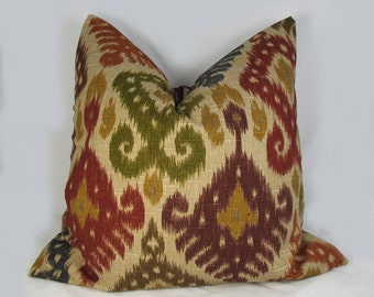Duralee Decorative Pillow Cushion Cover - Accent Pillow - Throw Pillow - Earthy colors