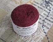 Claret 2/18 Zephyr Wool/Silk Yarn