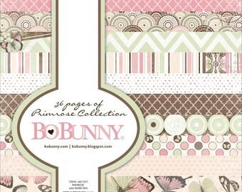 Bo Bunny PRIMROSE 6x6 paper pad BoBunny paperpad 6 x 6