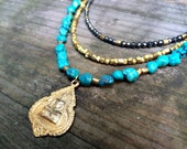 Yara - One Of A Kind Beaded Buddha Necklace