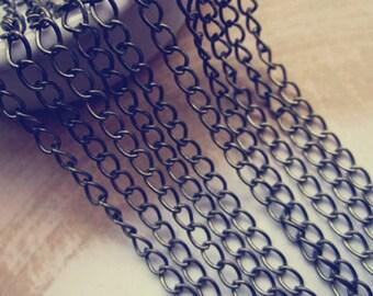 16ft(5m) antique   Bronze necklace chain 4mm