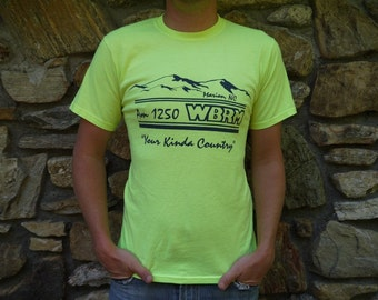 Vintage Country Radio Neon T Shirt