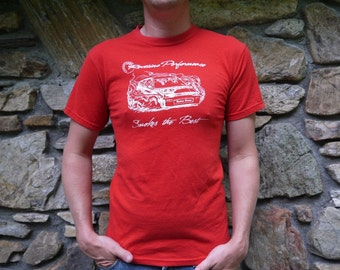 Vintage Redline Performance Race Car Smokes the Best T Shirt