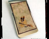 Re-Carded Fly Fishing Money Clip