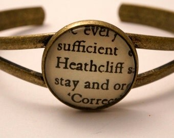 Wuthering Heights 'Heathcliff' bracelet literary jewellery