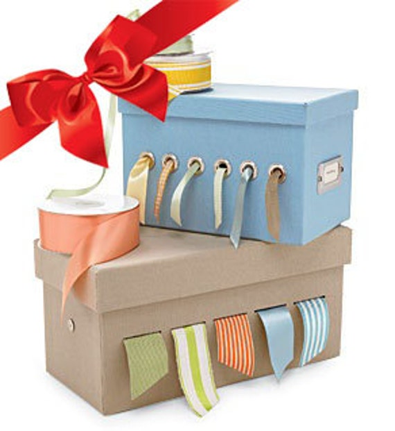 Craft bag full of mixed ribbons and trims for diy projects for Craft ribbons and trims